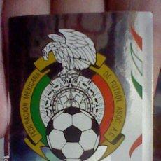 Postales: MEXICO ESCUDO BRILLANTE 245 PANINI 2006 ALEMANIA MUNDIAL SIN PEGAR NUNCA *. Lote 221818492