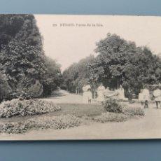 Postales: POSTAL BURGOS Nº 29 PASEO DE LA ISLA EDIC HAUSER Y MENET CASTILLA PERFECTA CONSERVACION. Lote 221824080