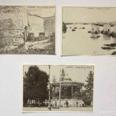 Postales: LOTE DE 3 TARJETAS POSTALES DEL AYER DE ZAMORA (1986) ¡SIN CIRCULAR! ¡ORIGINALES!. Lote 222024800