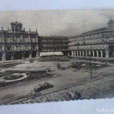Cartes Postales: ANTIGUA POSTAL FOTOGRÁFICA, SALAMANCA, PLAZA MAYOR ,VER FOTOS. Lote 222057047