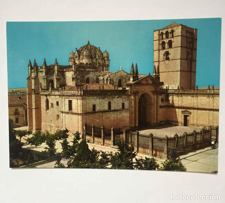 Postales: 4 tarjetas postales: ZAMORA (1960-70's) Sin circular. ¡Originales! ¡Coleccionista! - Foto 3 - 222059371