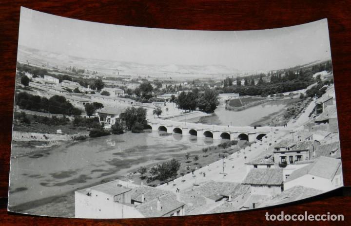 FOTO POSTAL DE PALENCIA, N. 110, PALENCIA, PUENTE MAYOR SOBRE EL RIO CARRION, ED. ARTIGOT, NO CIRCUL (Postales - España - Castilla y León Antigua (hasta 1939))