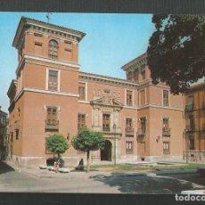 Postales: POSTAL SIN CIRCULAR - VALLADOLID 201 - FACHADA DEL MUSEO ARQUEOLOGICO - EDITA ESCUDO DE ORO. Lote 222257716