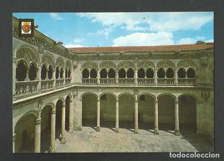 POSTAL SIN CIRCULAR - VALLADOLID 8 - PATIO DE SAN GREGORIO - EDITA ESCUDO DE ORO (Postales - España - Castilla y León Moderna (desde 1940))