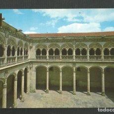 Postales: POSTAL SIN CIRCULAR - VALLADOLID 8 - PATIO DE SAN GREGORIO - EDITA ESCUDO DE ORO. Lote 222258203