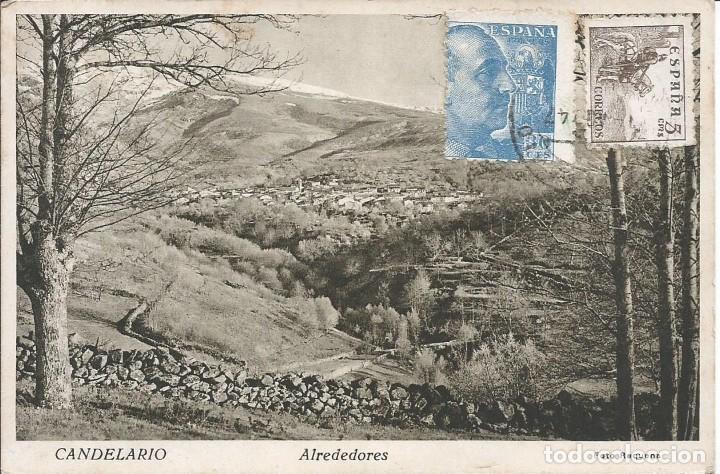 CANDELARIO (Postales - España - Castilla y León Moderna (desde 1940))