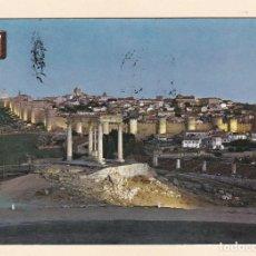 Postales: POSTAL VISTA GENERAL. NOCTURNA. AVILA (1964). Lote 222393607