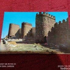 Postales: POSTAL MURALLAS (ÁVILA) (1962). Lote 222396956