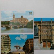 Postales: LOTE 6 POSTALES DE SALAMANCA. Lote 222457302