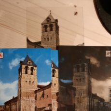 Postales: LEON / TORRE SAN ISIDORO .- POSTAL , NEGATIVOS Y PRUEBAS DE COLOR .- EDICIONES PERGAMINO. Lote 223395907