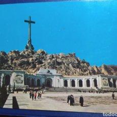 Postais: VALLE DE LOS CAÍDOS, PUBLICIDAD ESMALTE JEM, AÑOS 60. Lote 224350658