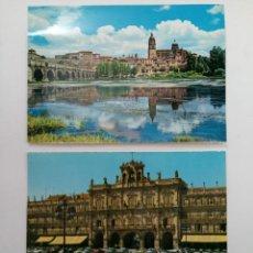 Postales: LOTE 10 POSTALES DE SALAMANCA AÑOS 70 (VER FOTOS). Lote 224481915
