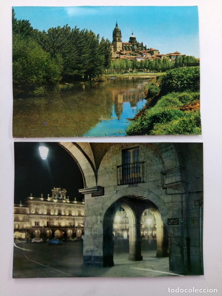 Postales: LOTE 10 POSTALES DE SALAMANCA AÑOS 70 (VER FOTOS) - Foto 3 - 224481915