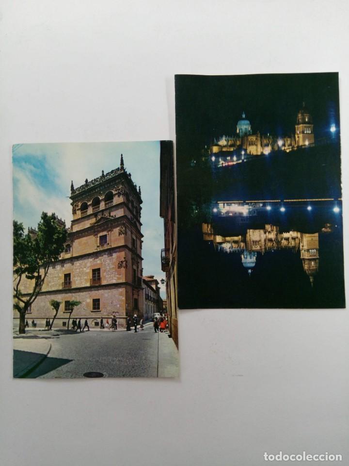 Postales: LOTE 10 POSTALES DE SALAMANCA AÑOS 70 (VER FOTOS) - Foto 4 - 224481915