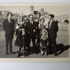 Postales: FOTO POSTAL, SALAMANCA, FOLCLORE, AÑO 1963. FOT ISIDORO ALVAREZ. Lote 224631403