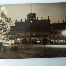 Cartes Postales: FOTO POSTAL, SALAMANCA, AÑO 1957, NAVIDAD, PLAZA. Lote 224633698