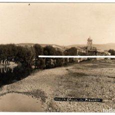 Postales: PRECIOSA POSTAL FOTOGRAFICA - AGUILAR DE CAMPOO (PALENCIA) - ORILLAS DEL PISUERGA - FOT. J.GARCIA. Lote 224800893