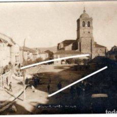 Postales: PRECIOSA POSTAL FOTOGRAFICA - AGUILAR DE CAMPOO (PALENCIA) - PLAZA MAYOR. Lote 224801937