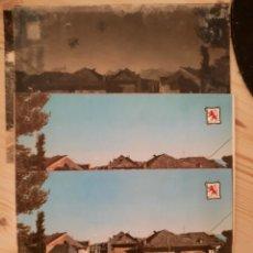 Postales: BEMBIBRE / LEON / AVENIDA JACOBEA , SAN ROMAN / POSTAL , NEGATIVOS Y PRUEBAS COLOR / EDI. PERGAMINO. Lote 224977595