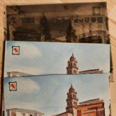 Postales: PONFERRADA / LEON .- BASILICA / PLAZA ENCINA /POSTAL / NEGATIVOS / PRUEBAS DE COLOR / EDI. PERGAMINO. Lote 225066517