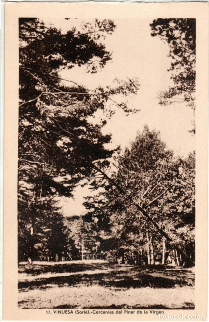 PRECIOSA POSTAL - VINUEA (SORIA) - ORILLAS DEL RIO DUERO - FOTO B. OCHOA (Postales - España - Castilla y León Antigua (hasta 1939))