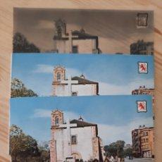 Postales: PONFERRADA / IGLESIA Y PASEO SAN ANTONIO /POSTAL / NEGATIVOS / PRUEBA COLOR / EDI. PERGAMINO. Lote 225787165