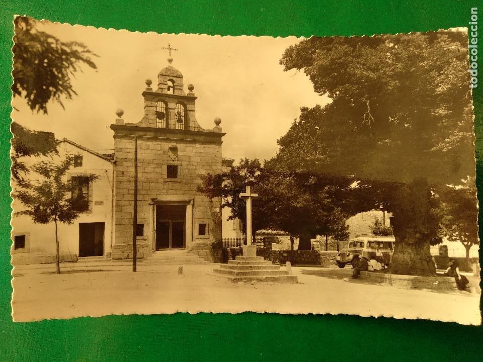 AVILA NAVAS DEL MARQUES GLORIETA DE CRISTO. HELIOTIPIA ARTISTICA ESPAÑOLA 7 (Postales - España - Castilla y León Moderna (desde 1940))