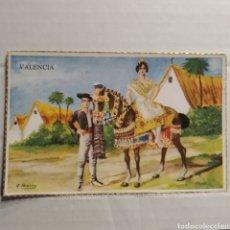 Postales: VALENCIA, DIBUJO DE A. IBARRA, ZUGEL, MADRID, REGIONALES 2ª SERIE, Nº 100/8. Lote 227637601