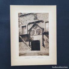 Postales: GRAN FOTOTIPIA FOTOGRAFIA IMPRESA LA CASA DEL CORDÓN BURGOS FOTO OTTO WUNDERLICH,. Lote 227706855