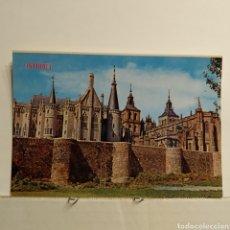 Postales: 342 ASTORGA, PALACIO DE GAUDÍ, CATEDRAL Y MURALLAS, EDICIONES PARÍS. Lote 228002860