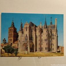 Postales: 107 ASTORGA, PALACIO EPISCOPAL, EDICIONES MADRILEÑAS, R. RINCON. Lote 228002912