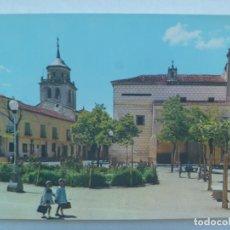Postales: POSTAL DE AREVALO ( AVILA ): PALACIO DE DON JUAN II Y TORRE DE SAN JUANO. AÑOS 60. Lote 228132010