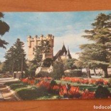Postales: POSTAL ALCAZAR, PLAZA DE LA REINA VICTORIA. SEGOVIA. Lote 228132060