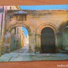 Postales: POSTAL PUERTA DE LA CLAUSTRA. SEGOVIA. Lote 228132730