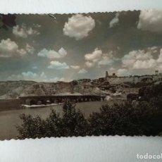 Postales: TORO (ZAMORA) - PUENTE SOBRE EL RIO DUERO Y VISTA PARCIAL, ED. GRECOR Nº25. Lote 228192760