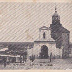 Postales: ALMAZAN (SORIA) - ERMITA DE JESUS - CON CENSURAR MILITAR. Lote 228224725