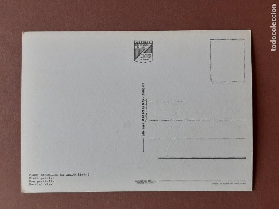 Postales: POSTAL 2001 ARRIBAS. CABOALLES DE ABAJO. VILLABLINO. LEÓN. 1968. SIN CIRCULAR. - Foto 2 - 228452225