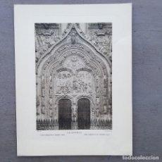 Postales: GRAN FOTOGRAFIA/FOTOTIPIA IMPRESA LA CATEDRAL SALAMANCA FOTO OTTO WUNDERLICH. Lote 229755095