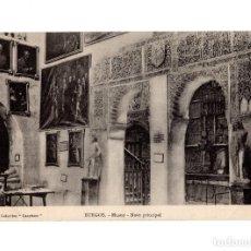 Cartoline: BURGOS.- MUSEO PROVINCIAL. NAVE PRINCIPAL.. Lote 229895165