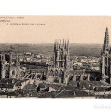 Cartoline: BURGOS.- LA CATEDRAL DESDE SAN ESTEBAN.. Lote 230287705