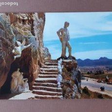 Postales: POSTAL 2 SICÍLIA. MONUMENTO AL PASTOR. AMEYUGO. BURGOS. 1962. SIN CIRCULAR.. Lote 230403095