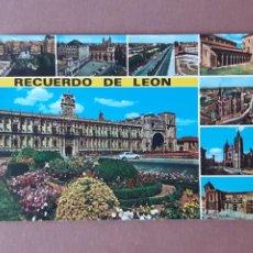 Postales: POSTAL 53 HIJOS DE F. ALONSO. CALLES Y MONUMENTOS LEONESES. LEÓN. 1970. SIN CIRCULAR.. Lote 230410995
