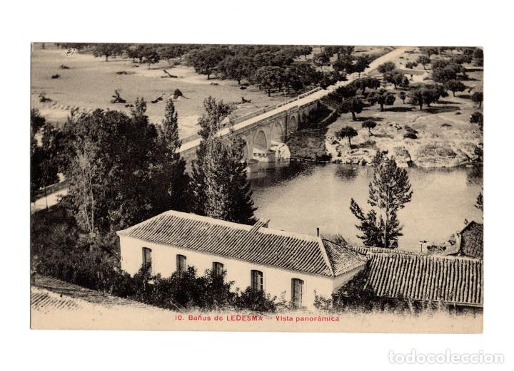 BAÑOS DE LEDESMA.(SALAMANCA).- VISTA PANORÁMICA. (Postales - España - Castilla y León Antigua (hasta 1939))