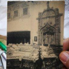 Postais: POSTAL BURGOS CARTUJA DE MIRAFLORES SEPULCROS DE D. JUAN II DOÑA ISABEL DE PORTUGAL Y DEL INFANTE D.. Lote 232183855