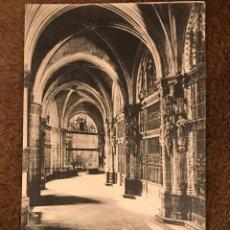 Postales: POSTAL CIRCULADA DE LA CATEDRAL DE BURGOS - AÑO 1928. Lote 233029460