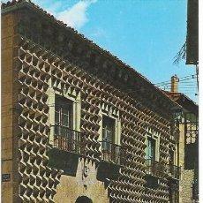Postales: SEGOVIA - CASA DE LOS PICOS. HOUSE OF THE SHARP POINTS. MAISON DES PICS.. Lote 11340098