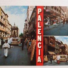 Cartoline: PALENCIA - CALLE MAYOR - PROCESIÓN DEL CÓRPUS - P41500. Lote 234007180