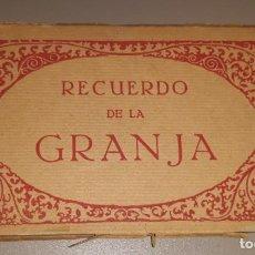 Postales: LIBRITO DE 20 POSTALES COMPLETO. RECUERDO DE LA GRANJA. PRINCIPIOS S.XX. FOTOTIPIA THOMAS.. Lote 234549020