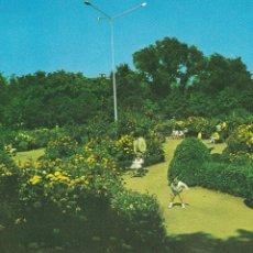 Postales: ZAMORA, BENAVENTE JARDINES DE LA ROSALEDA. ED. MIGAN. CIRCULADA. AÑO 1970. Lote 234733725