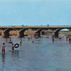 Postales: ZAMORA, BENAVENTE PUENTE SOBRE EL RIO ORBIGO (LA VENTOSA). ED. PARIS. SIN CIRCULAR. AÑO 1963. Lote 234734870
